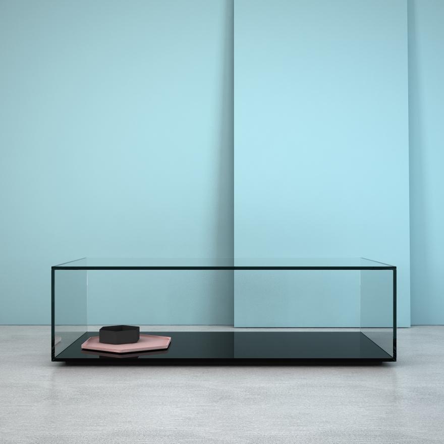 Klarity 1st glass furniture range