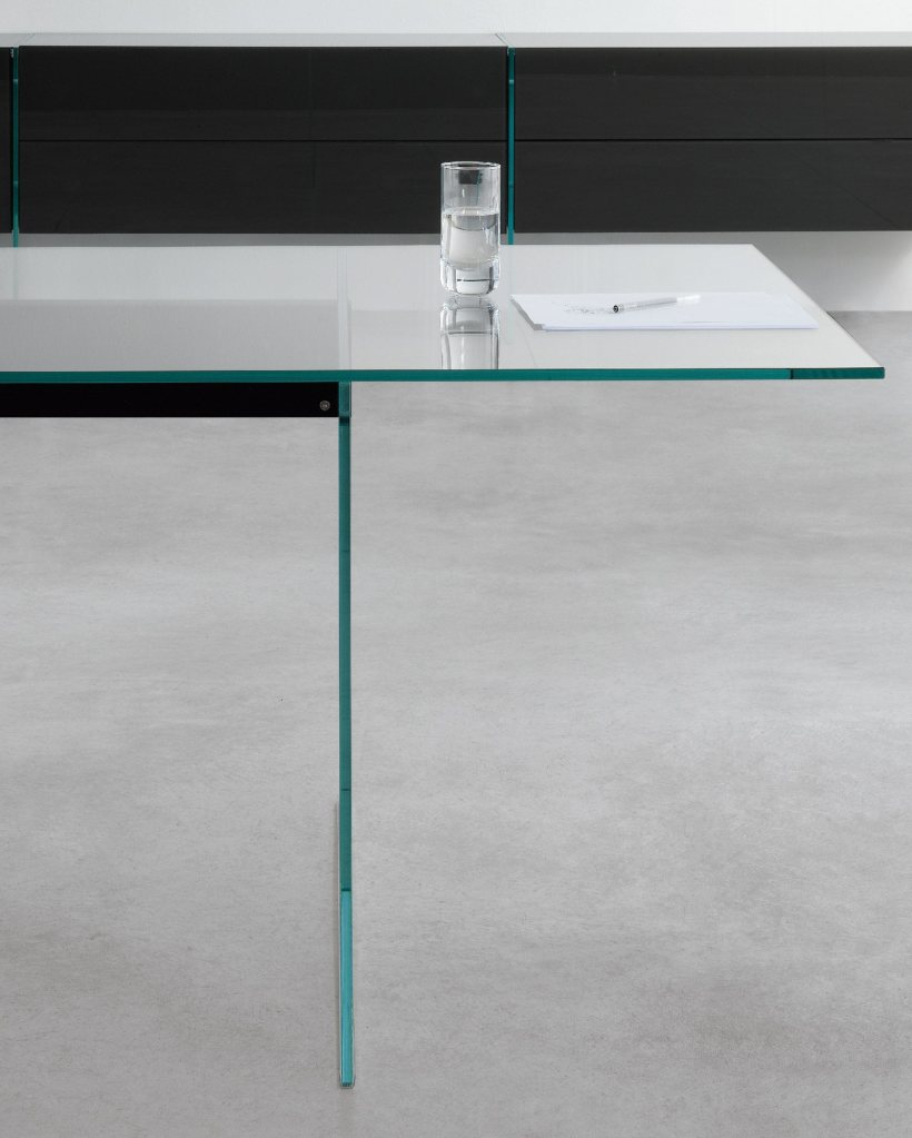 air glass table Gallotti and Radice